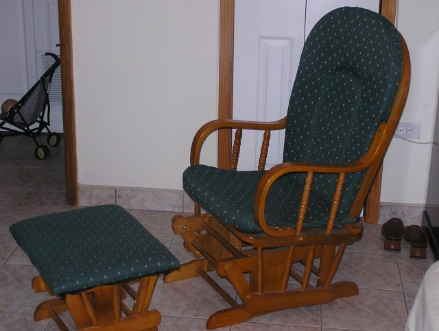 Glider Rocker Replacement Cushions With Snaps