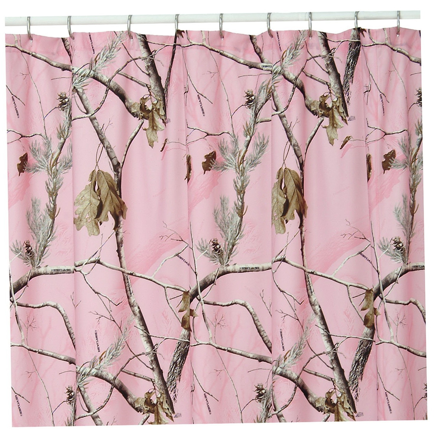 Gray And Pink Shower Curtains Home Design Ideas