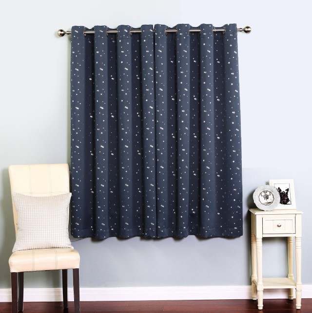Grommet Blackout Curtains 63 Inch