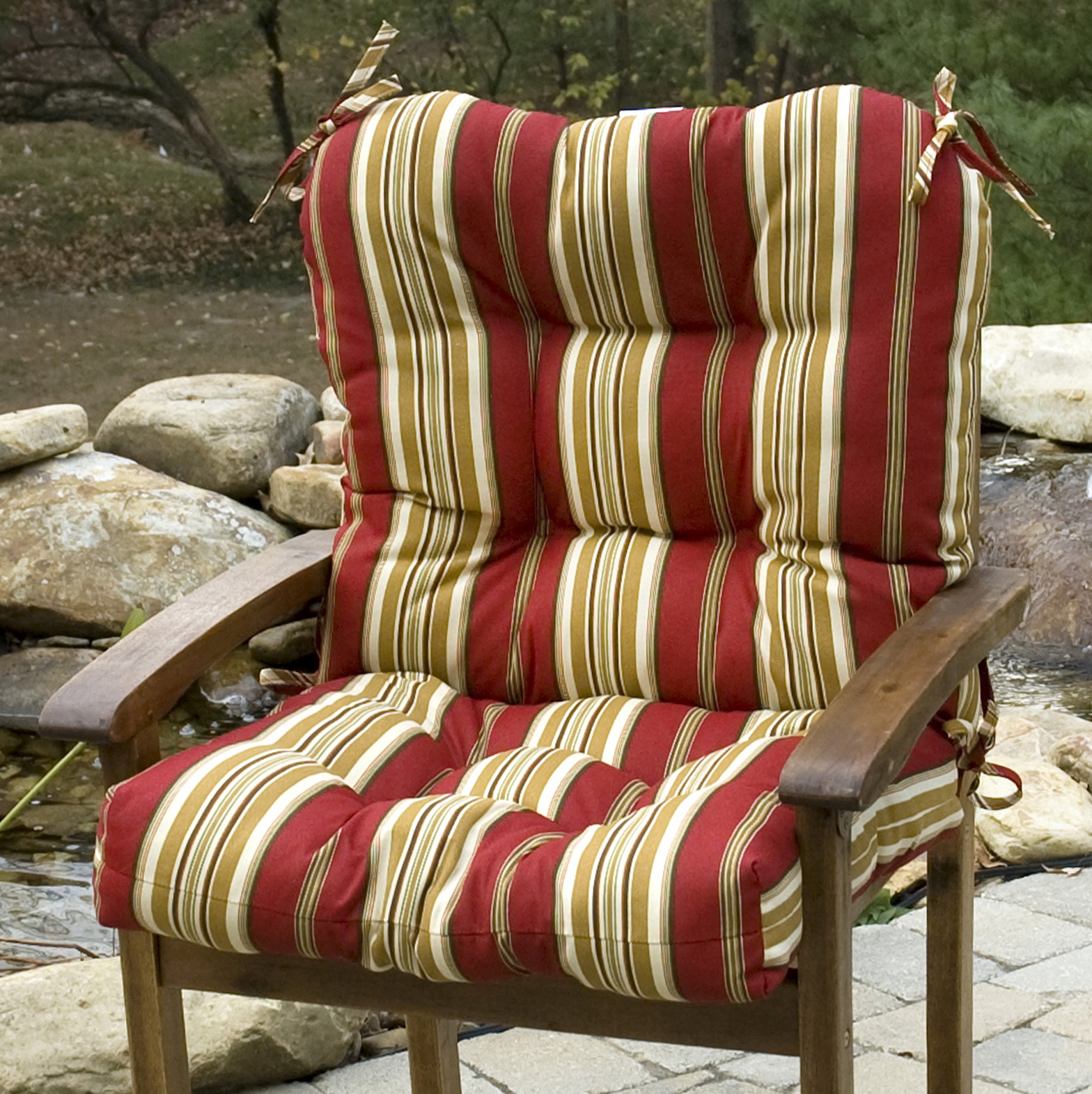 High Back Patio Chair Cushions Home Depot