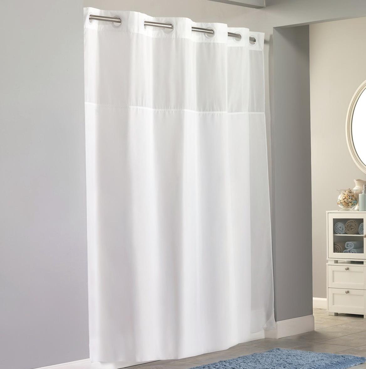 Hookless Fabric Shower Curtain | Home Design Ideas