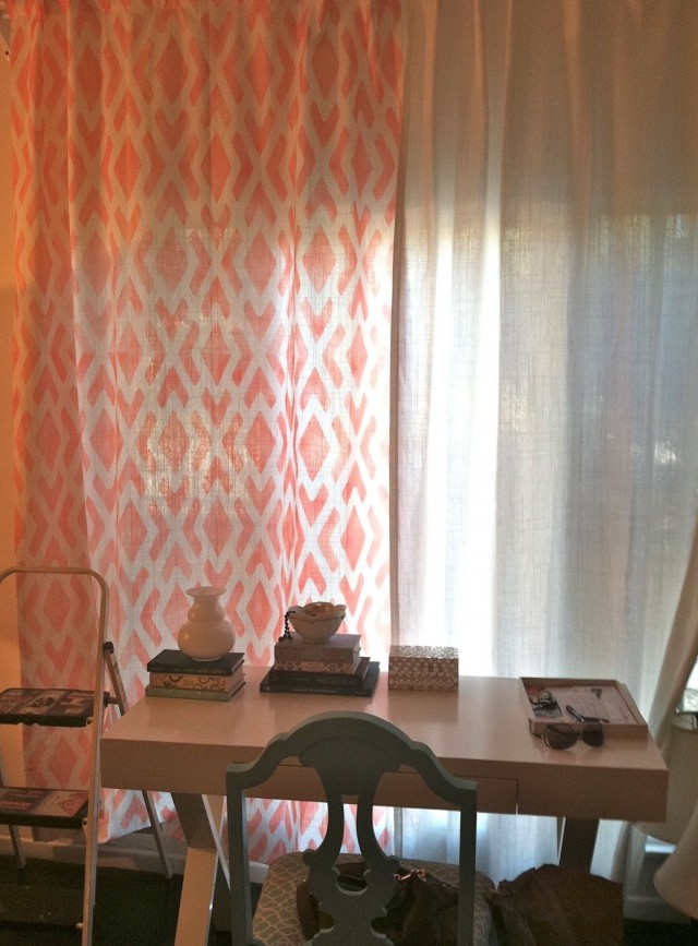 Ikea Aina Curtains Pink
