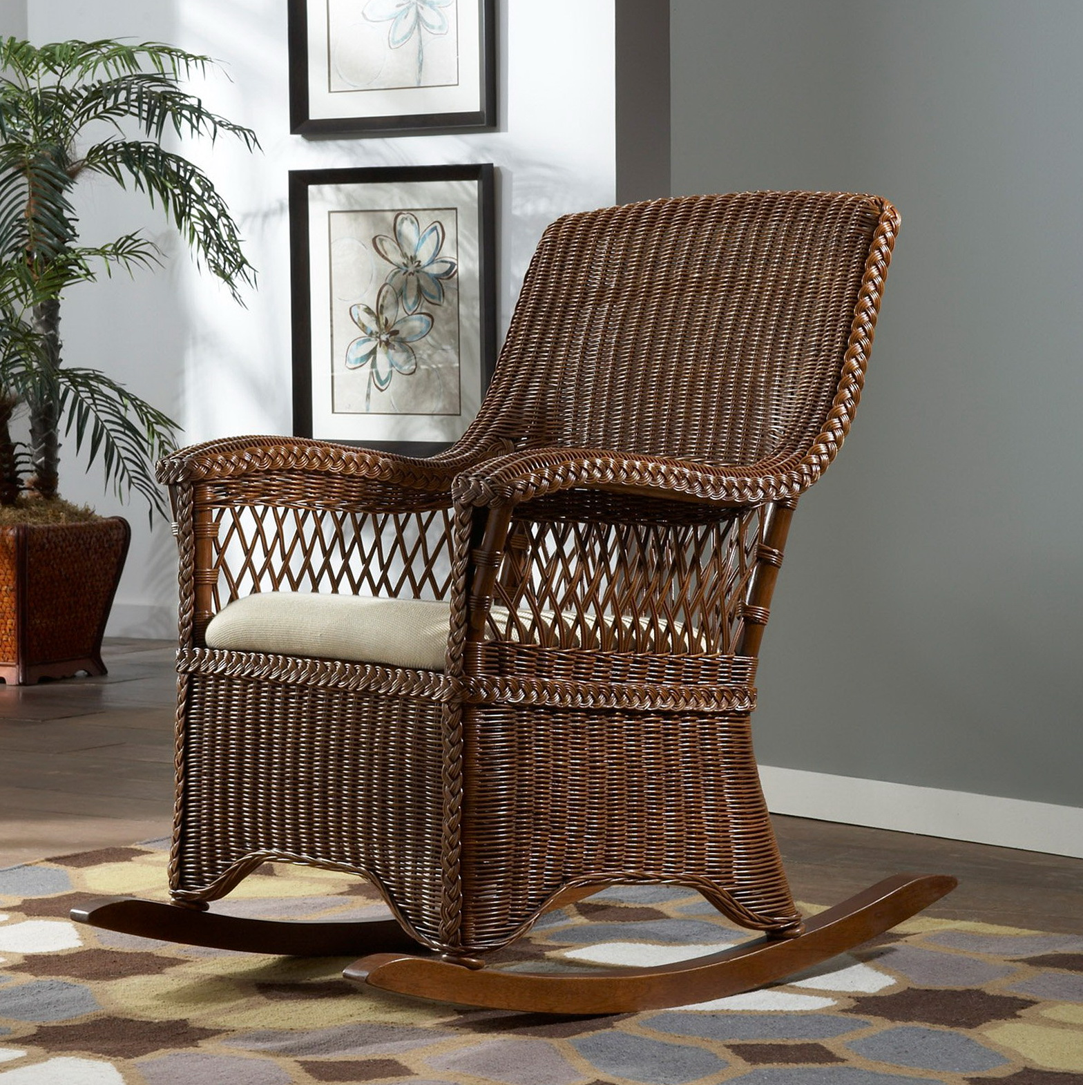 Indoor Wicker Chair Cushions | Home Design Ideas