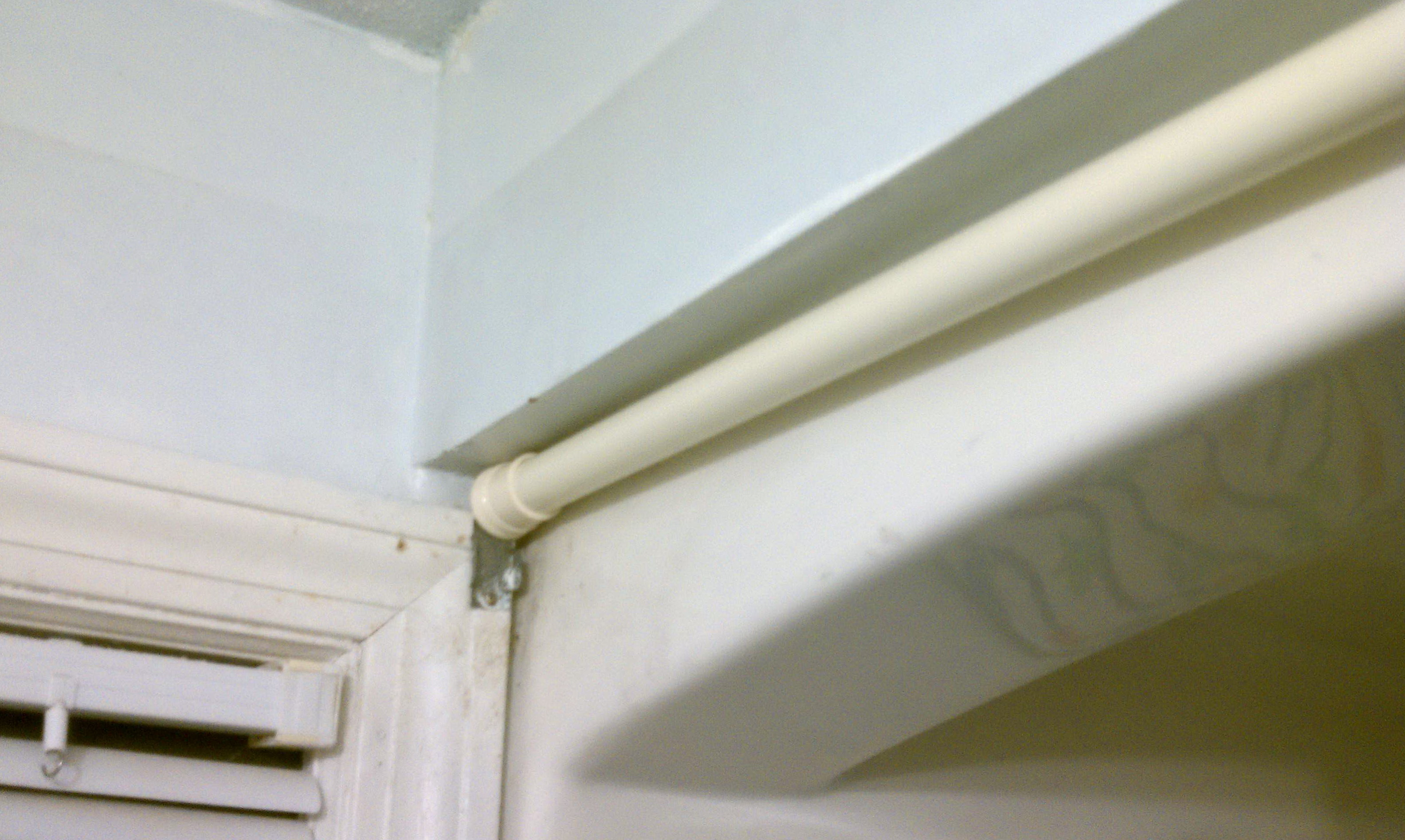 Inside Mount Curtain Rod Hardware Home Design Ideas