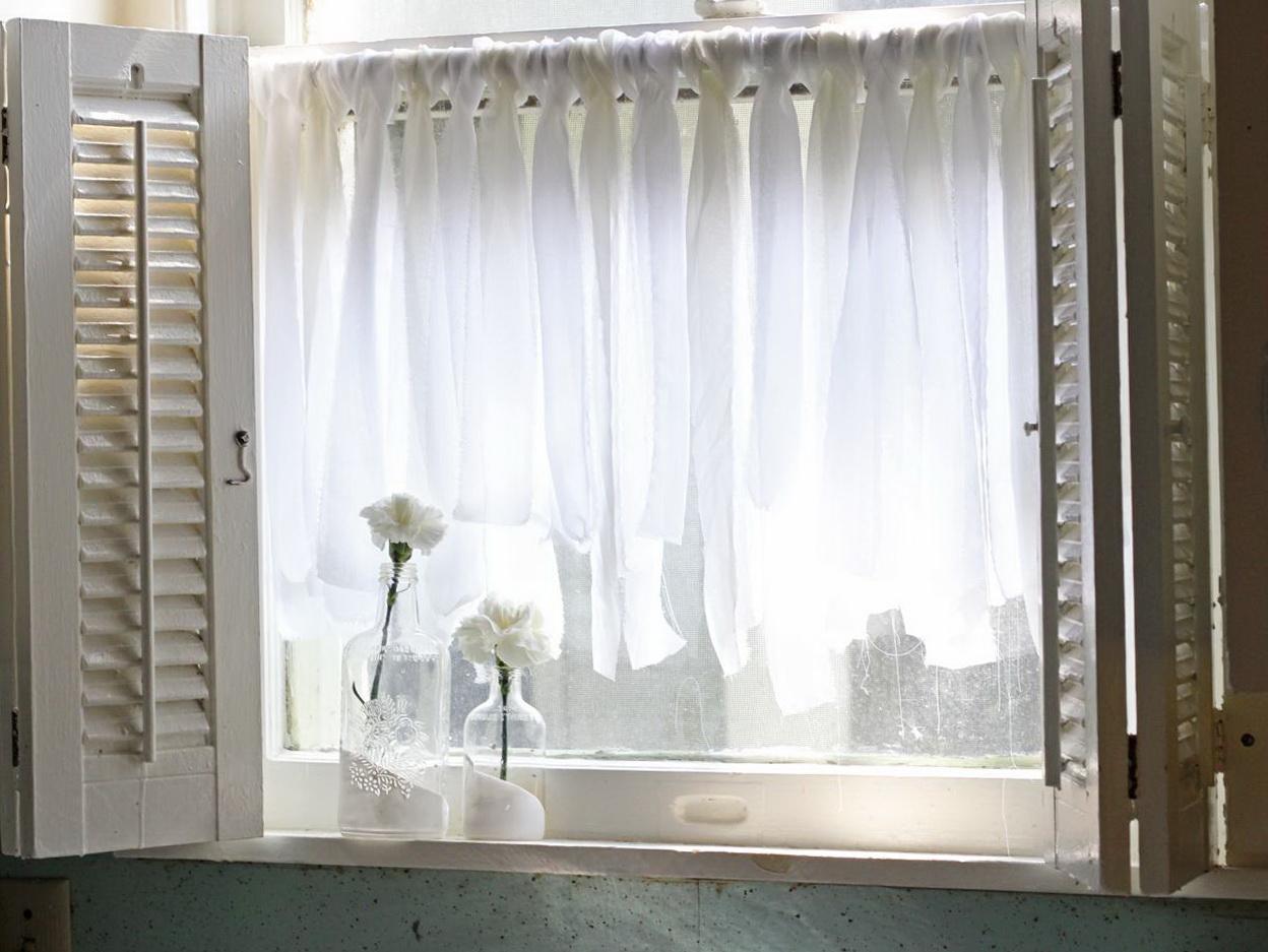 Kitchen Cafe Curtains Ideas
