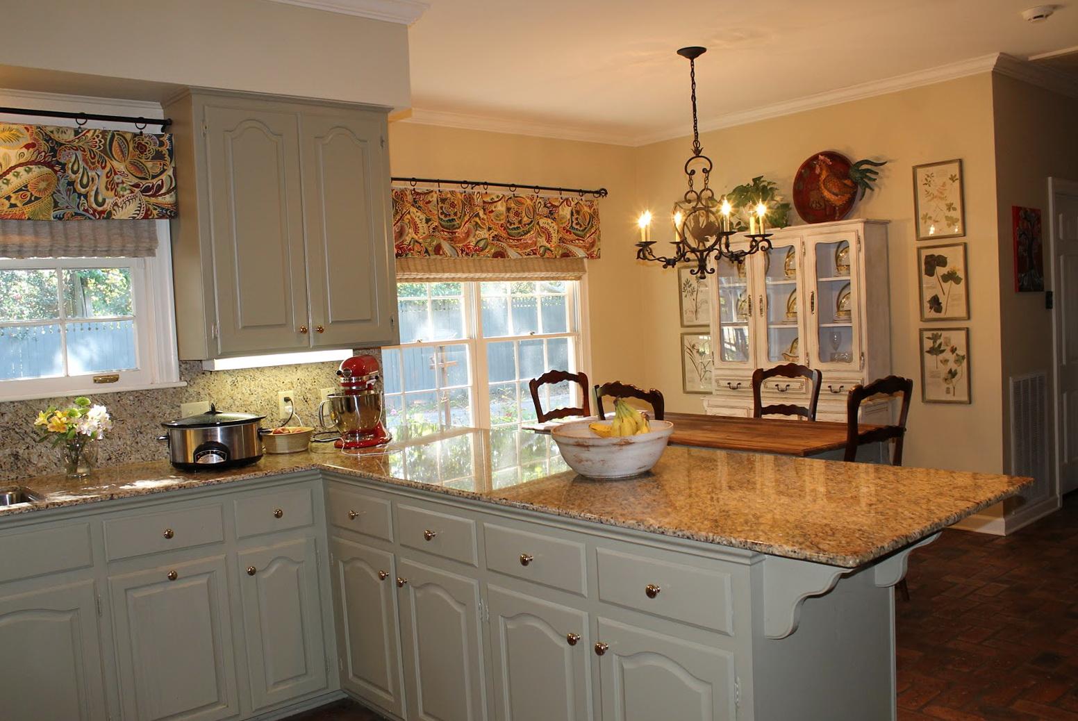 Kitchen Double Window Curtains Home Design Ideas