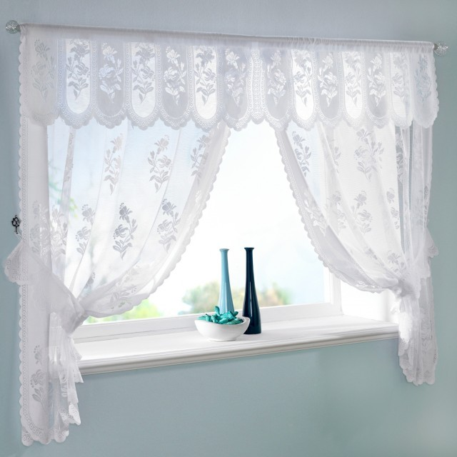 Kitchen Window Clip Art: Lace Curtains For Kitchen Windows