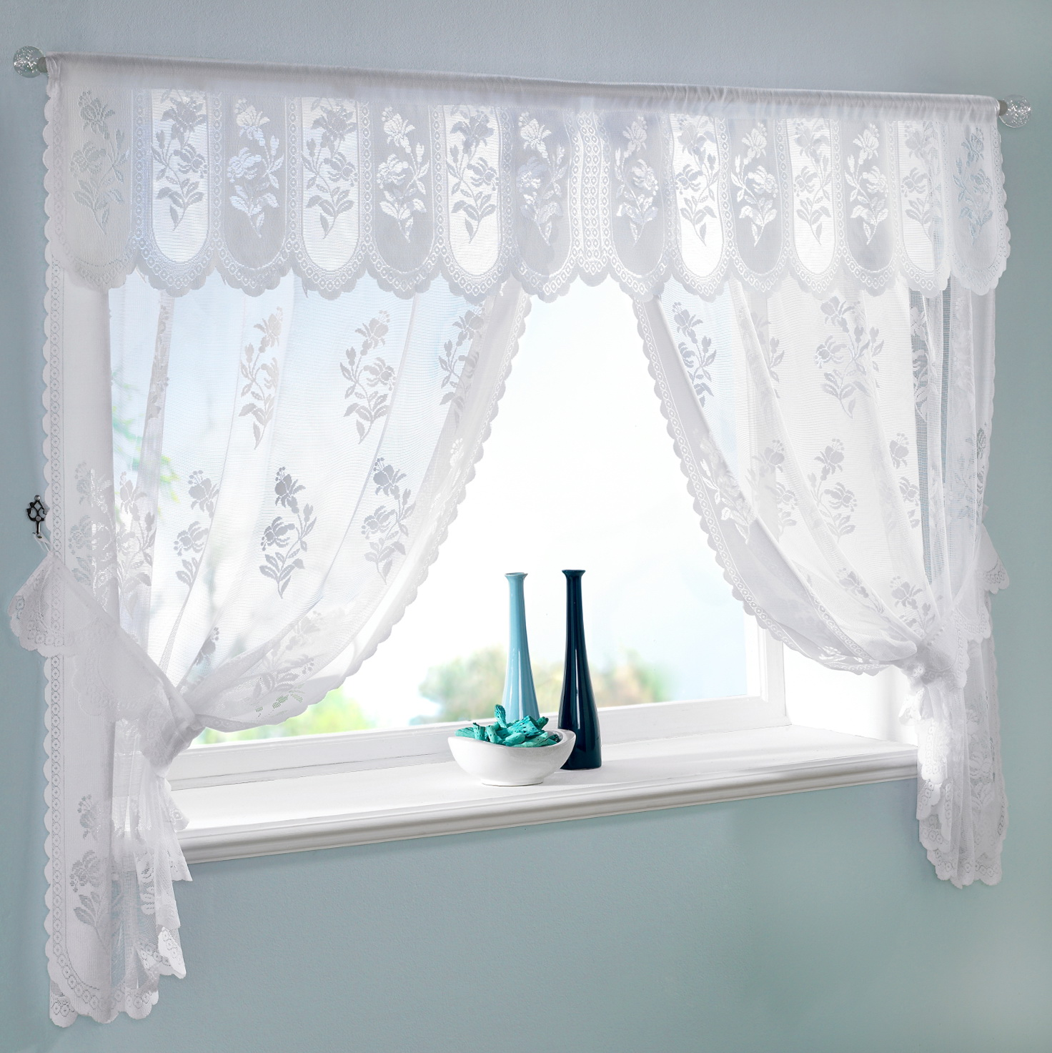 Lace Kitchen Curtains Uk