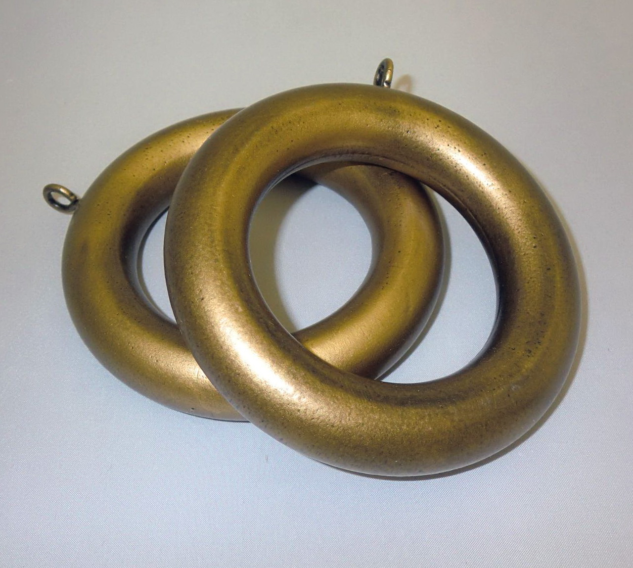 Large Wooden Curtain Rings