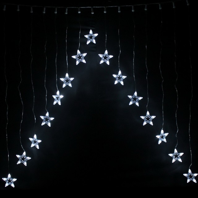 Led Star Light Curtain
