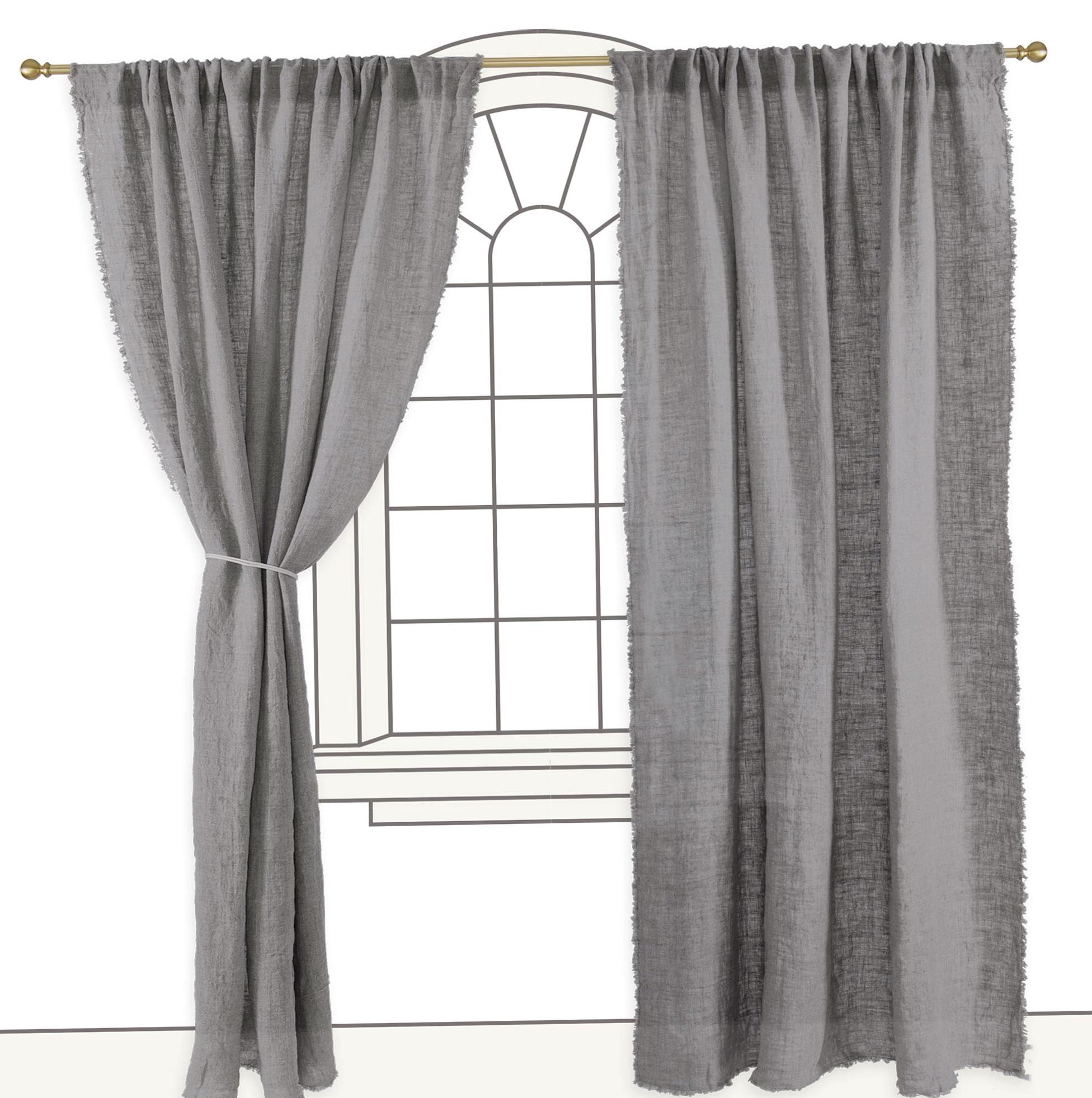 Light Grey Curtain Panels Home Design Ideas