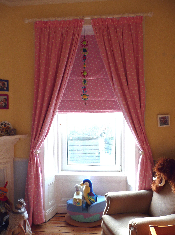 Light Pink Curtains For Nursery Home Design Ideas