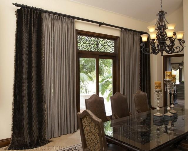 Metal Curtain Rods Long