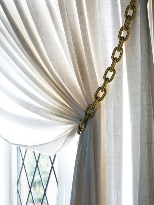 Metal Tiebacks For Curtains