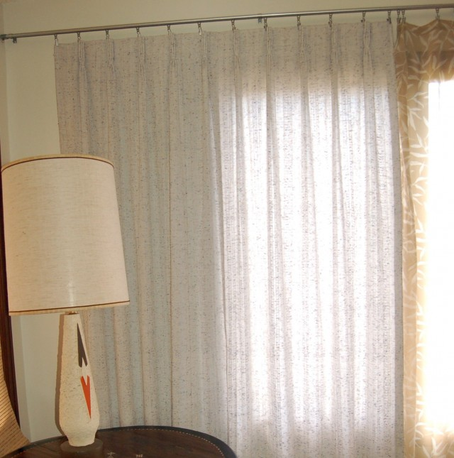 Mid Century Modern Curtain Rods Home Design Ideas