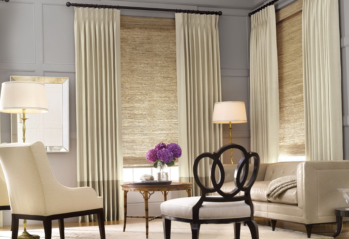 Modern Living Room Window Curtains