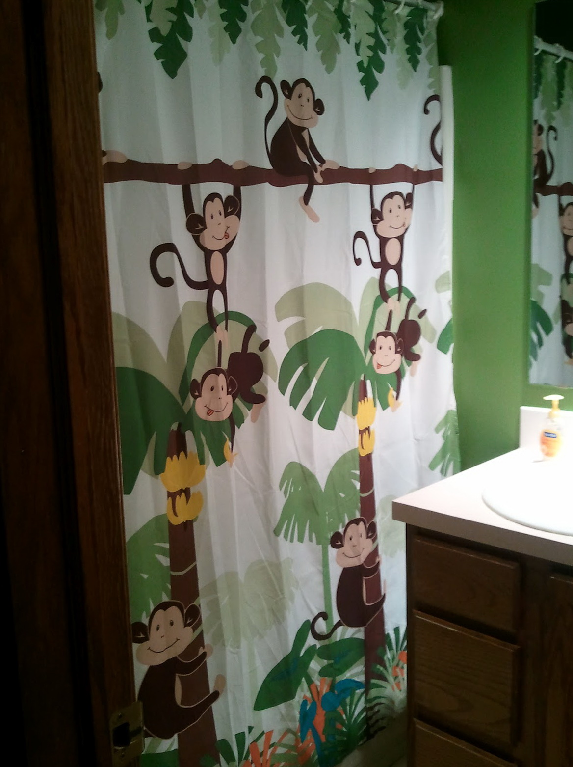 Monkey Curtains For Nursery