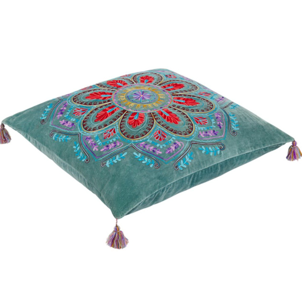 Moroccan floor cushion seating home design ideas for Floor cushion seating ideas