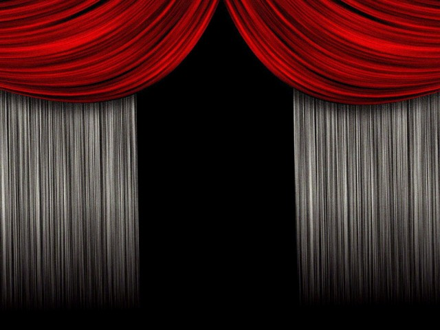 Movie Theater Curtains Opening