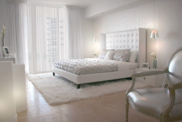 Off White Curtains Bedroom