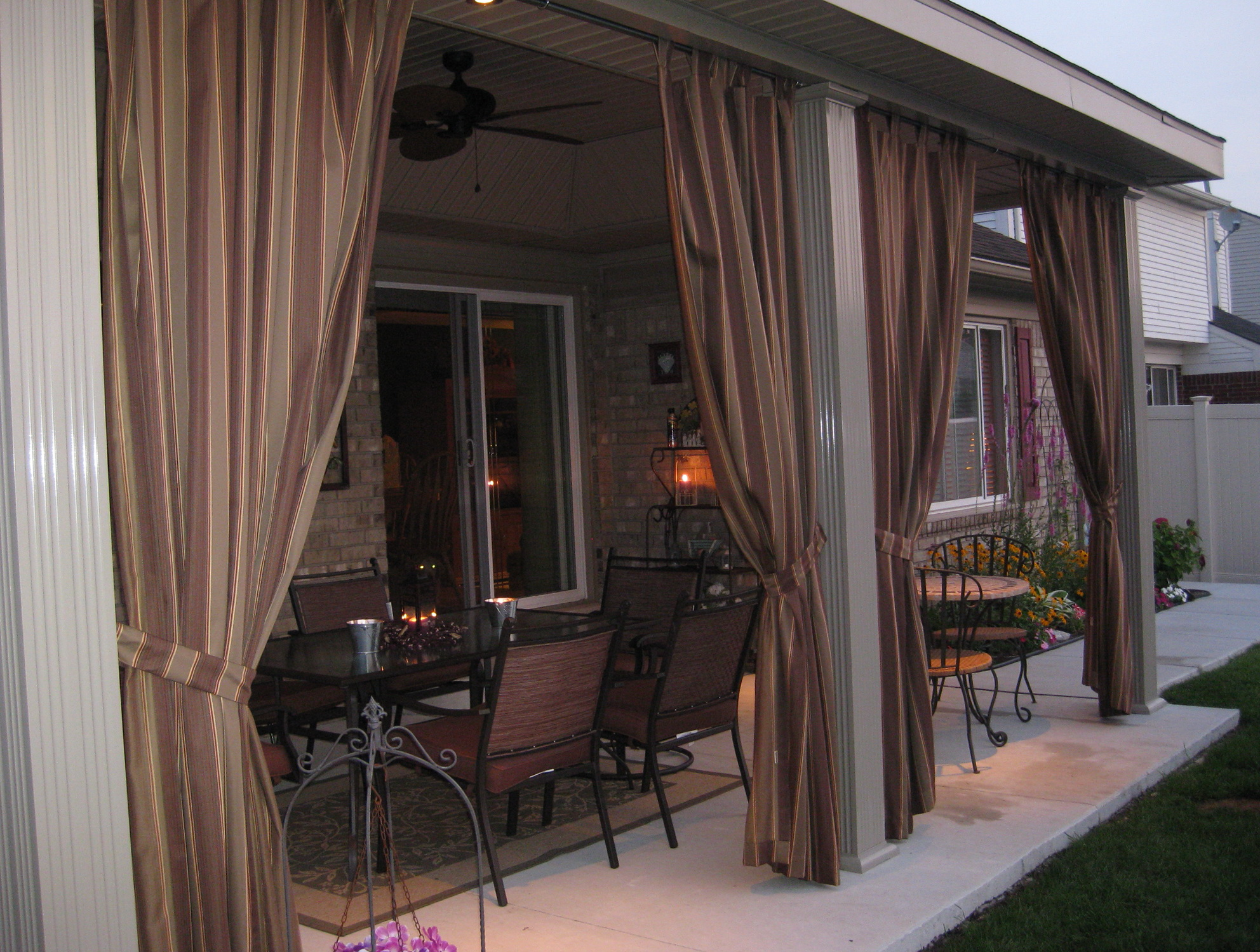 photo drapery curtains shower full sheer fabric patio design size bathroom ideas curtain outdoor of weighted medium sunbrella