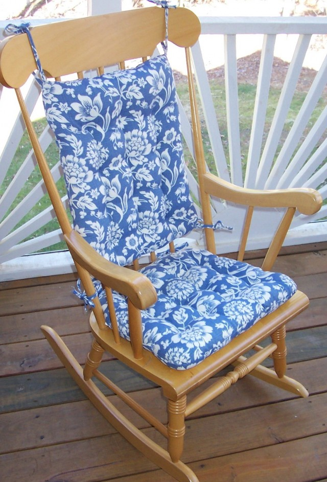 Rocking Chair Cushions With Arm Pads Home Design Ideas
