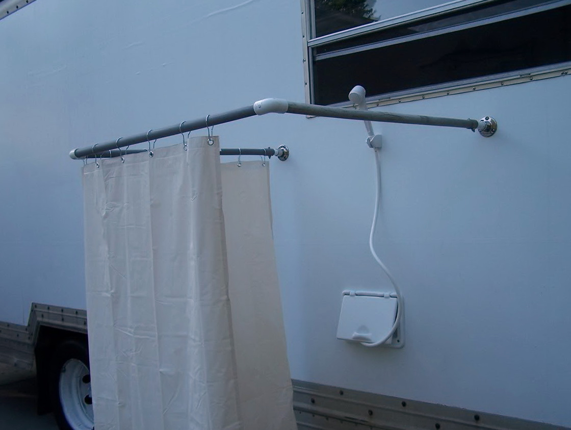 Rv Outdoor Shower Curtain Rod | Functionalities.net