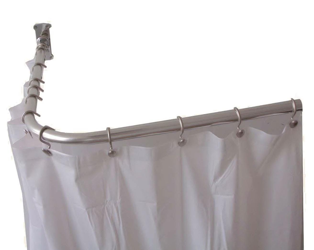 Outdoor Shower Curtain Rod U Shaped | Home Design Ideas