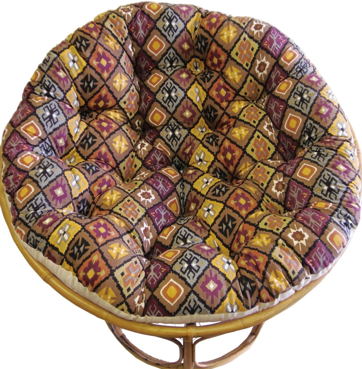 Papasan cushion cover pattern home design ideas Papasan cushion cover