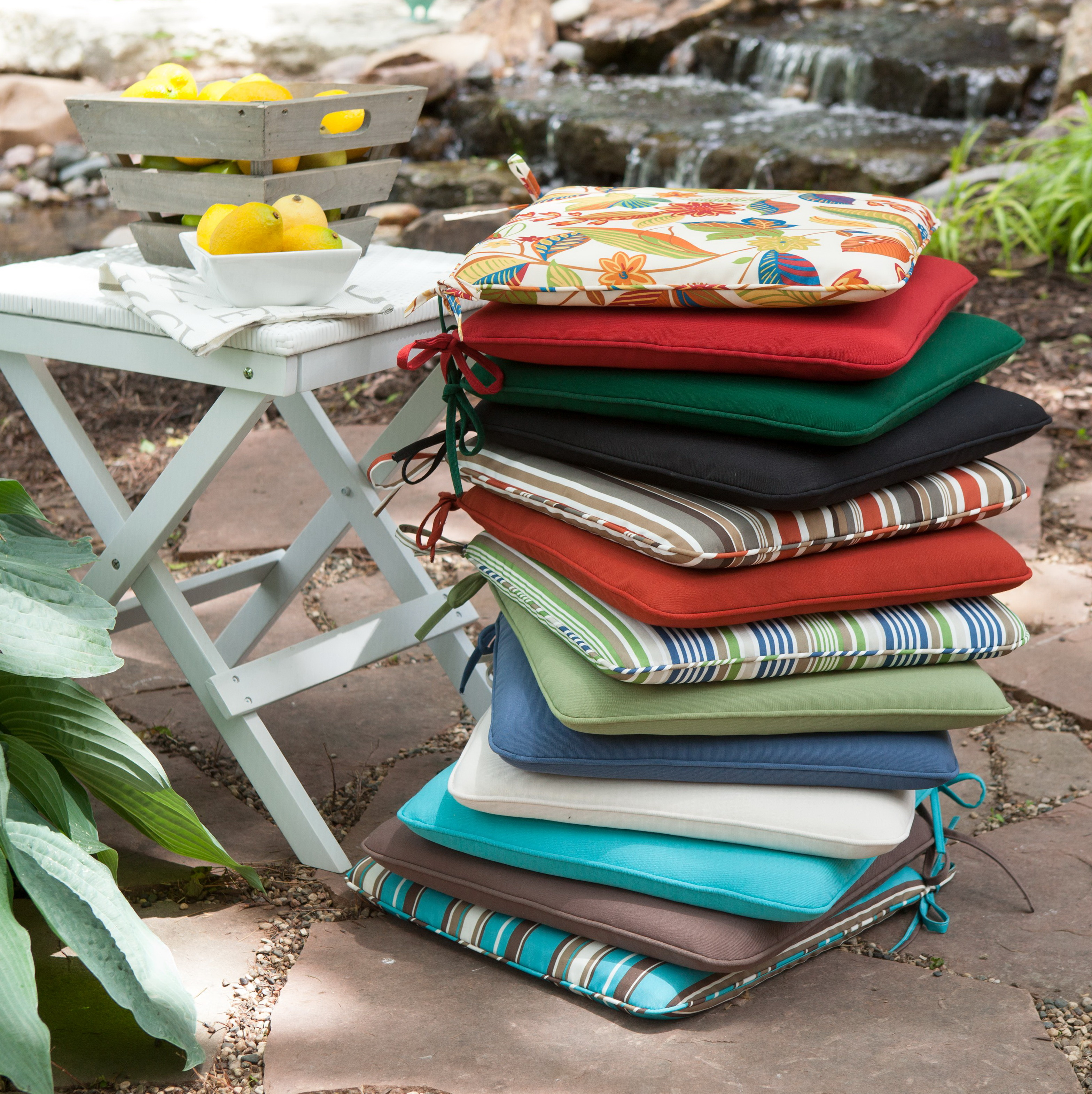 Patio seat cushions sale home design ideas for Patio furniture cushion covers sale