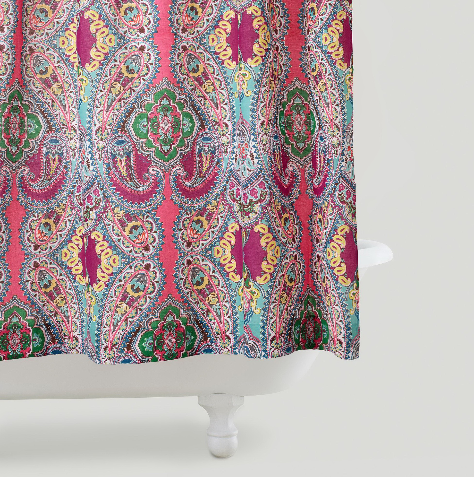 pink grey shower curtain. Pink And Grey Shower Curtains  Home Design Ideas
