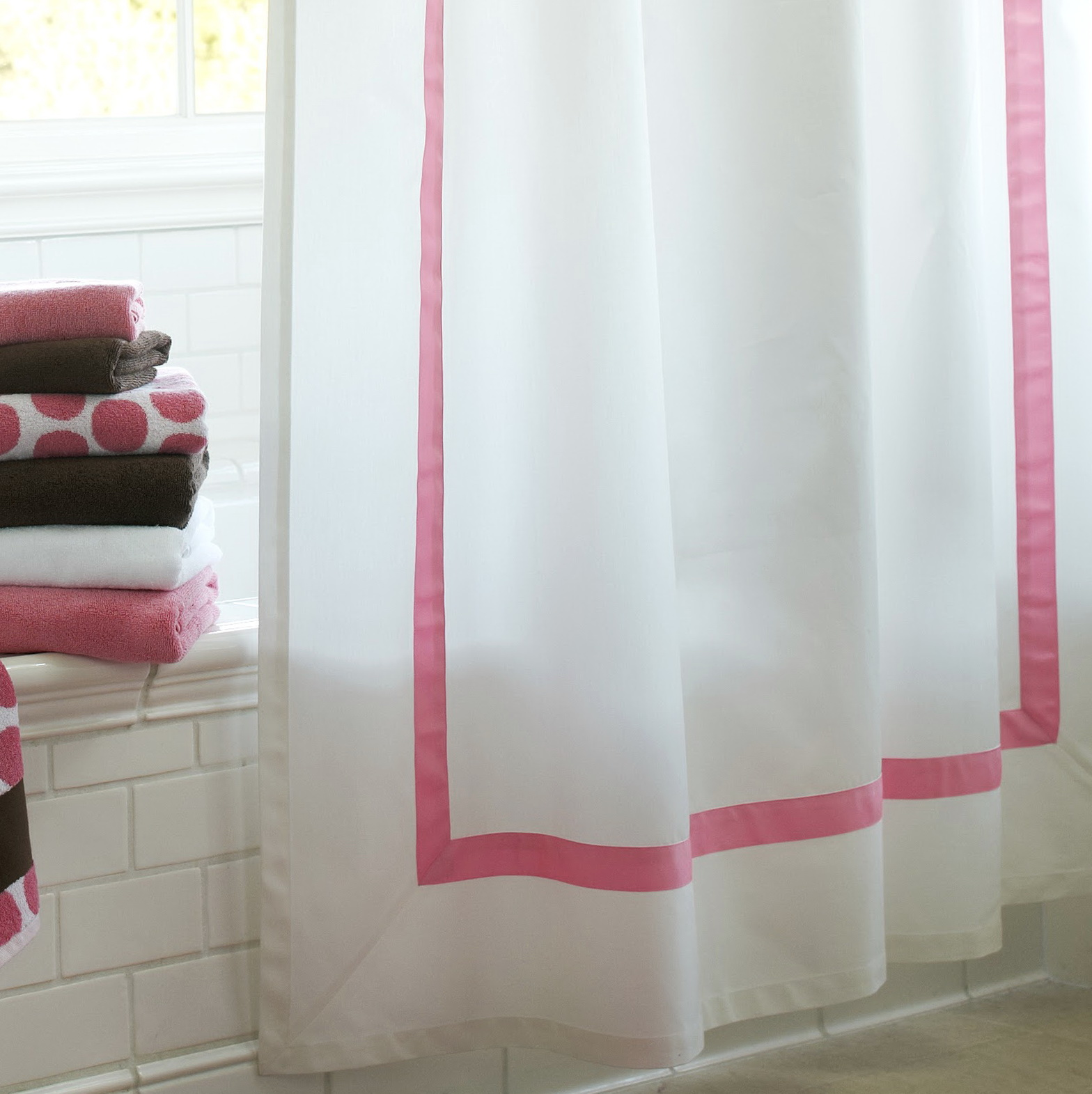 Pink And White Striped Curtains Home Design Ideas