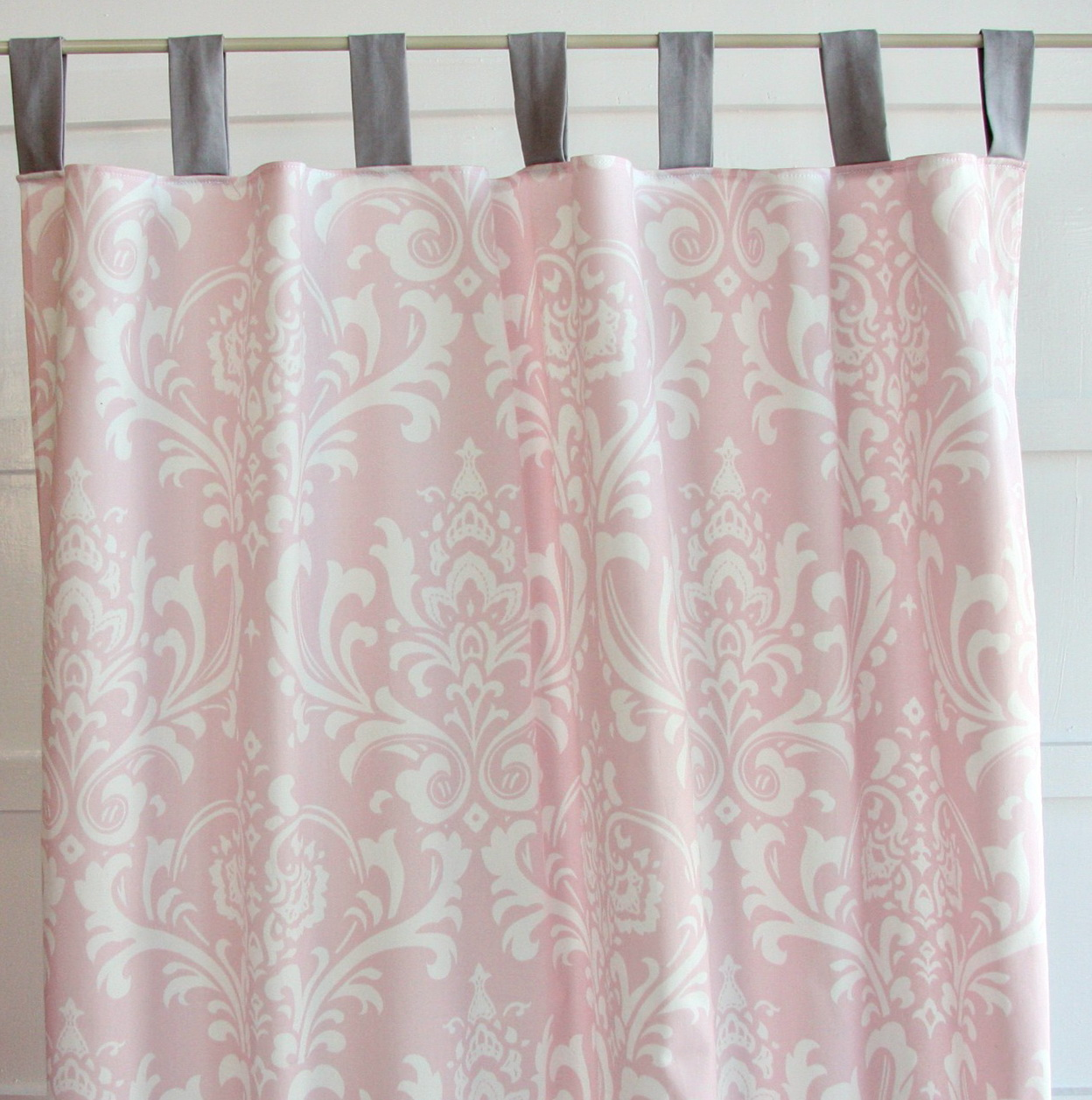 Pink Curtains For Nursery Home Design Ideas