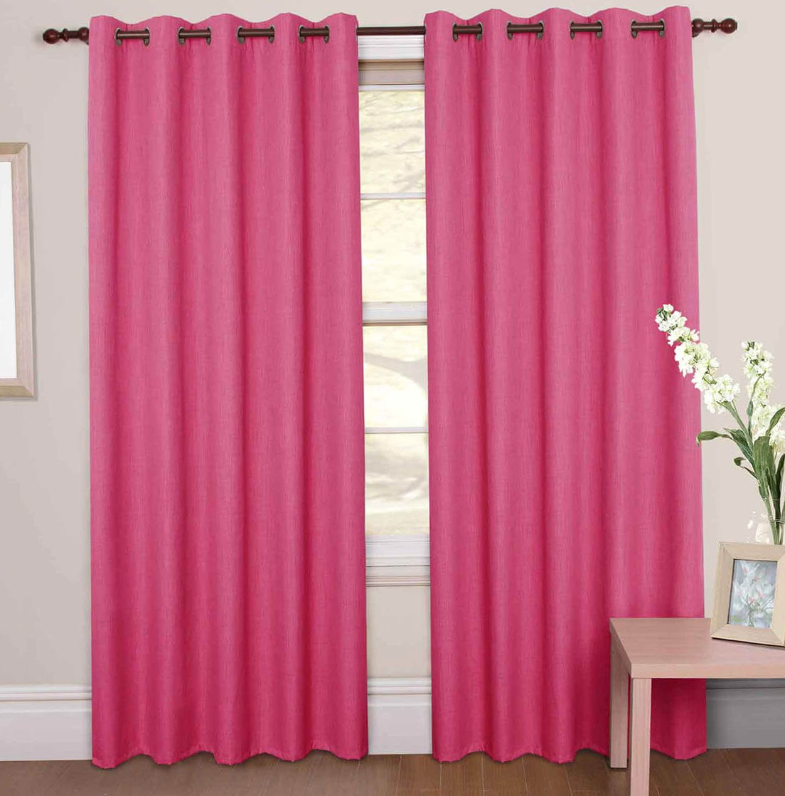 Pink Nursery Curtains Uk