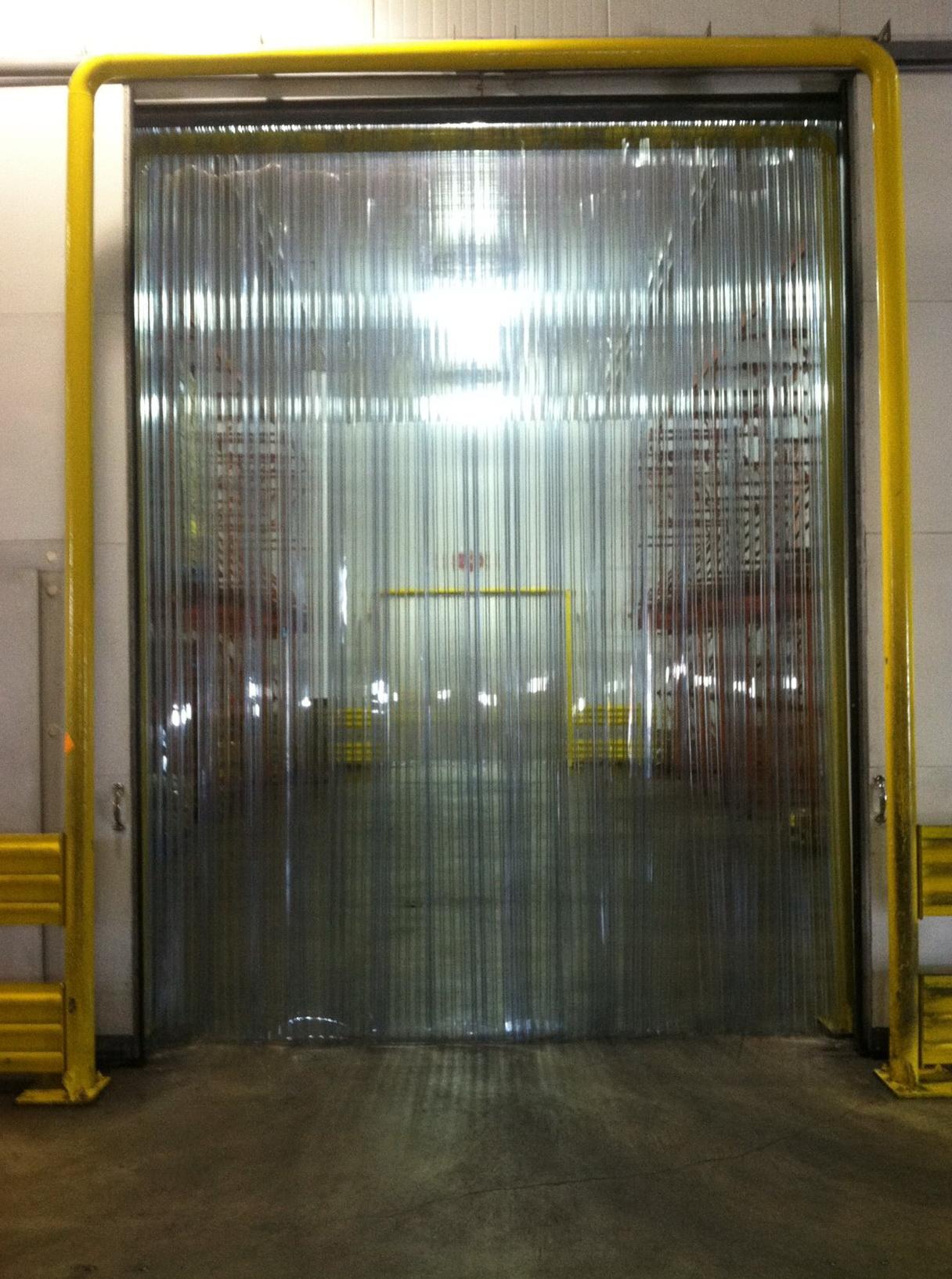 Plastic Door Curtain Strips