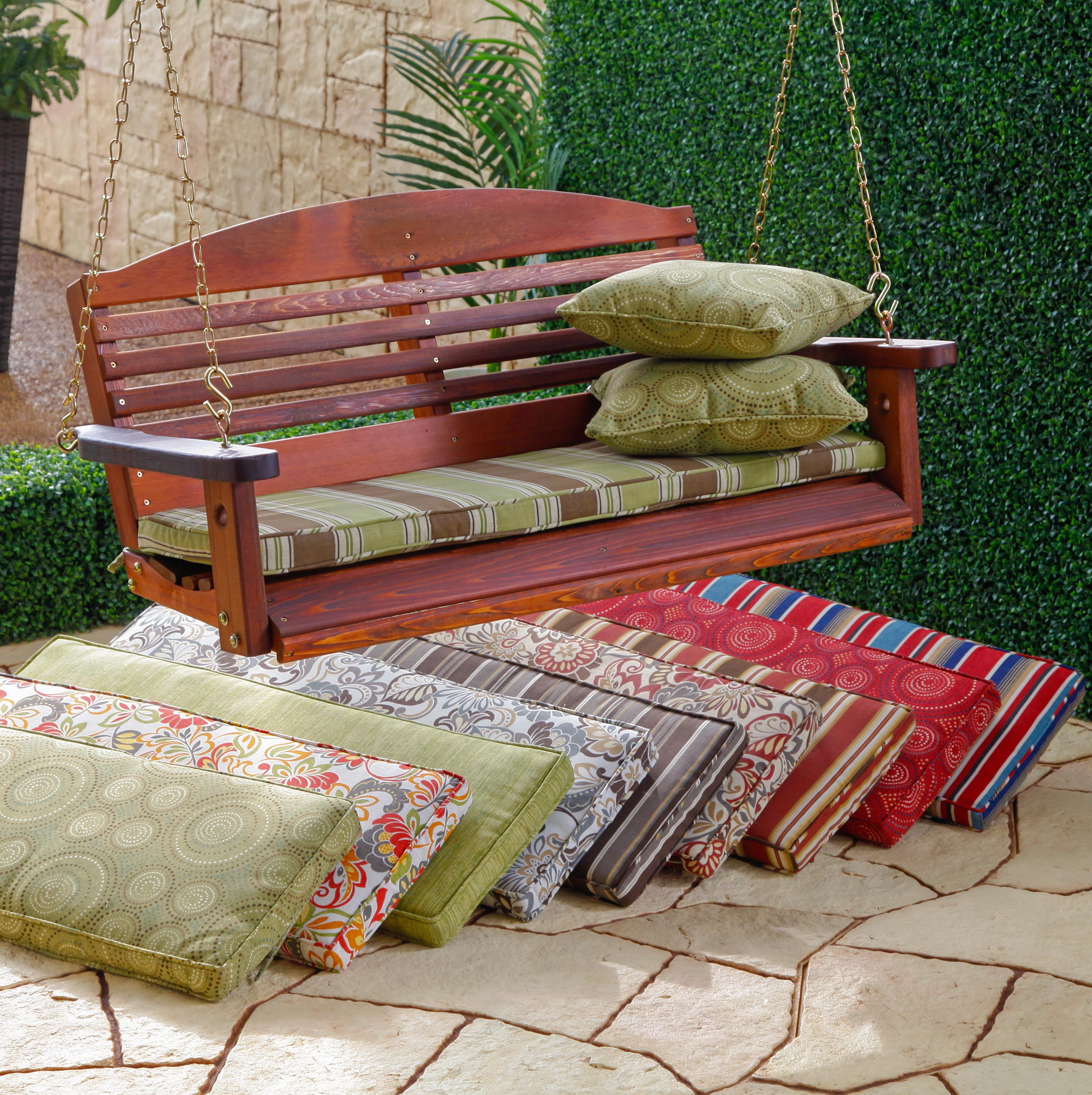 Porch Swing Cushions 5ft
