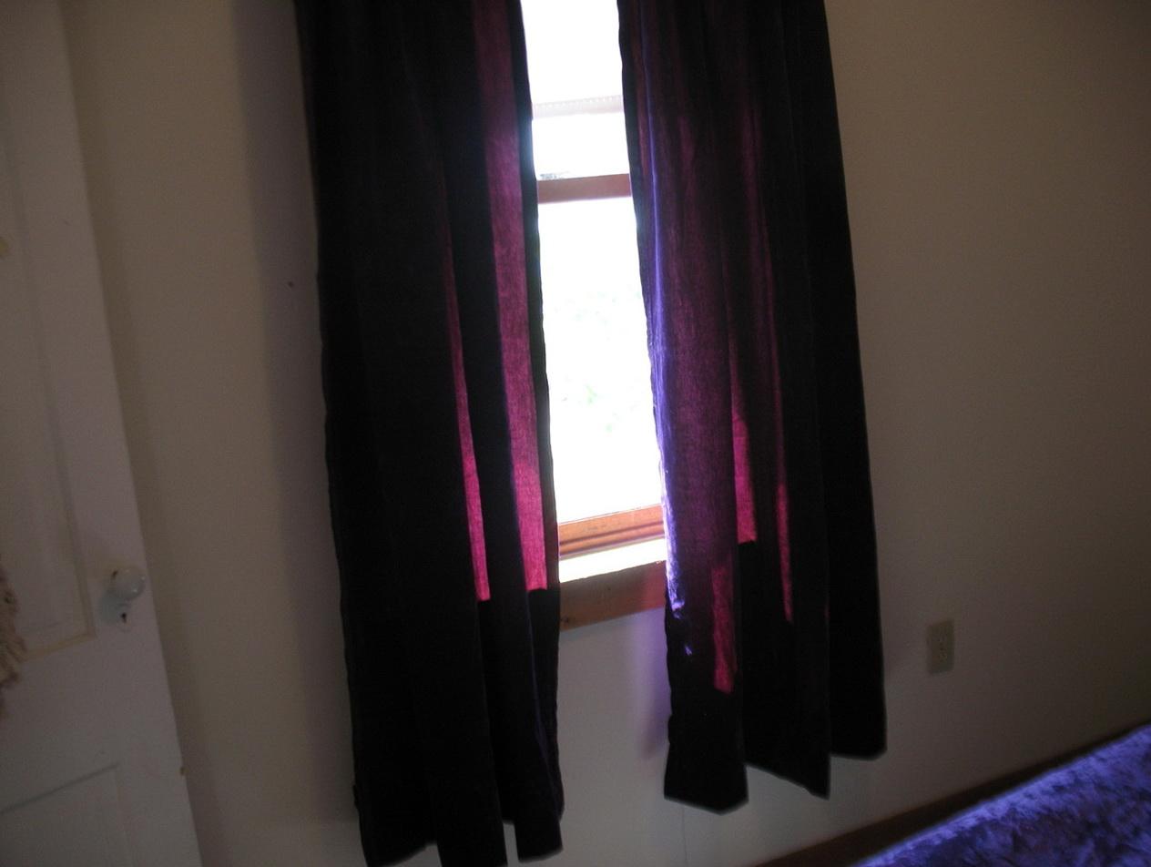 Purple Crushed Velvet Curtains Home Design Ideas