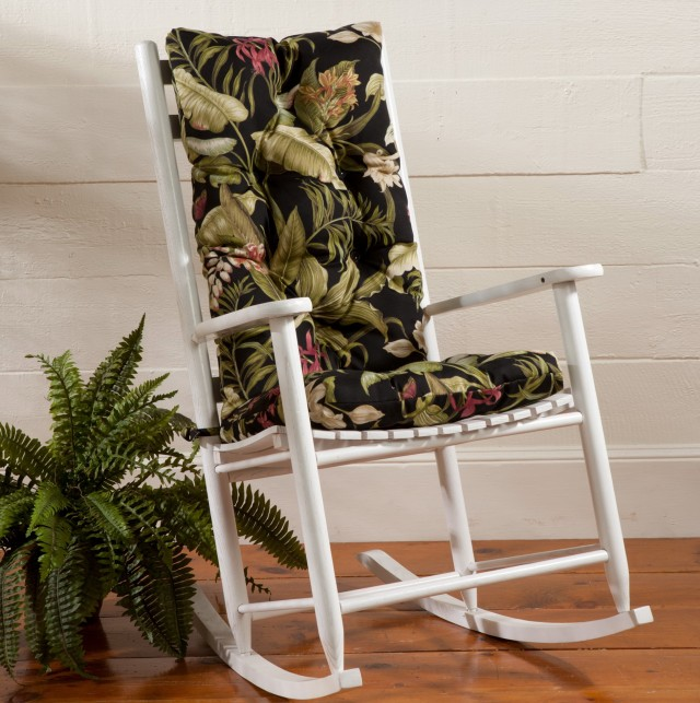 Rocking Chair Cushion Set Pattern