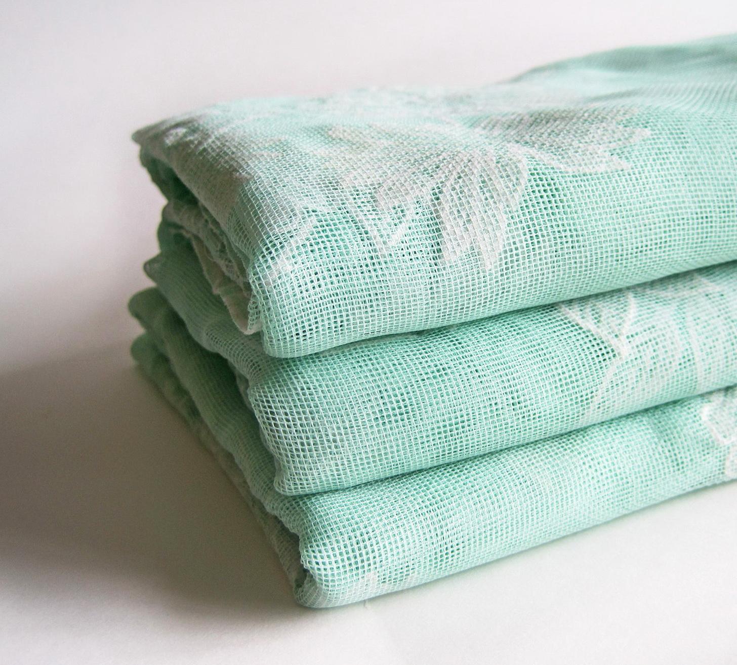 Seafoam Green Sheer Curtains