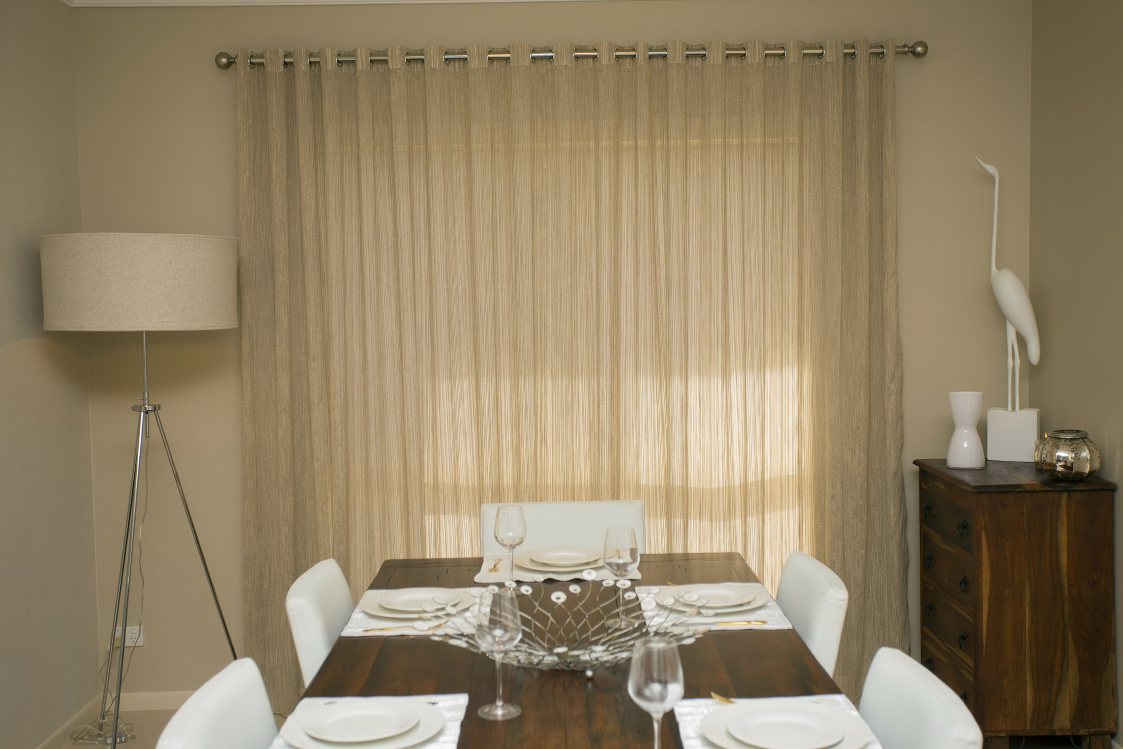 Sheer Curtains With Blinds