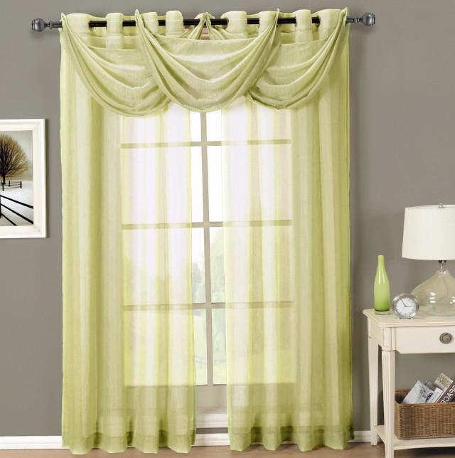 Sheer Grommet Curtains 108