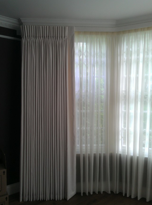 Sheer Pinch Pleated Curtains