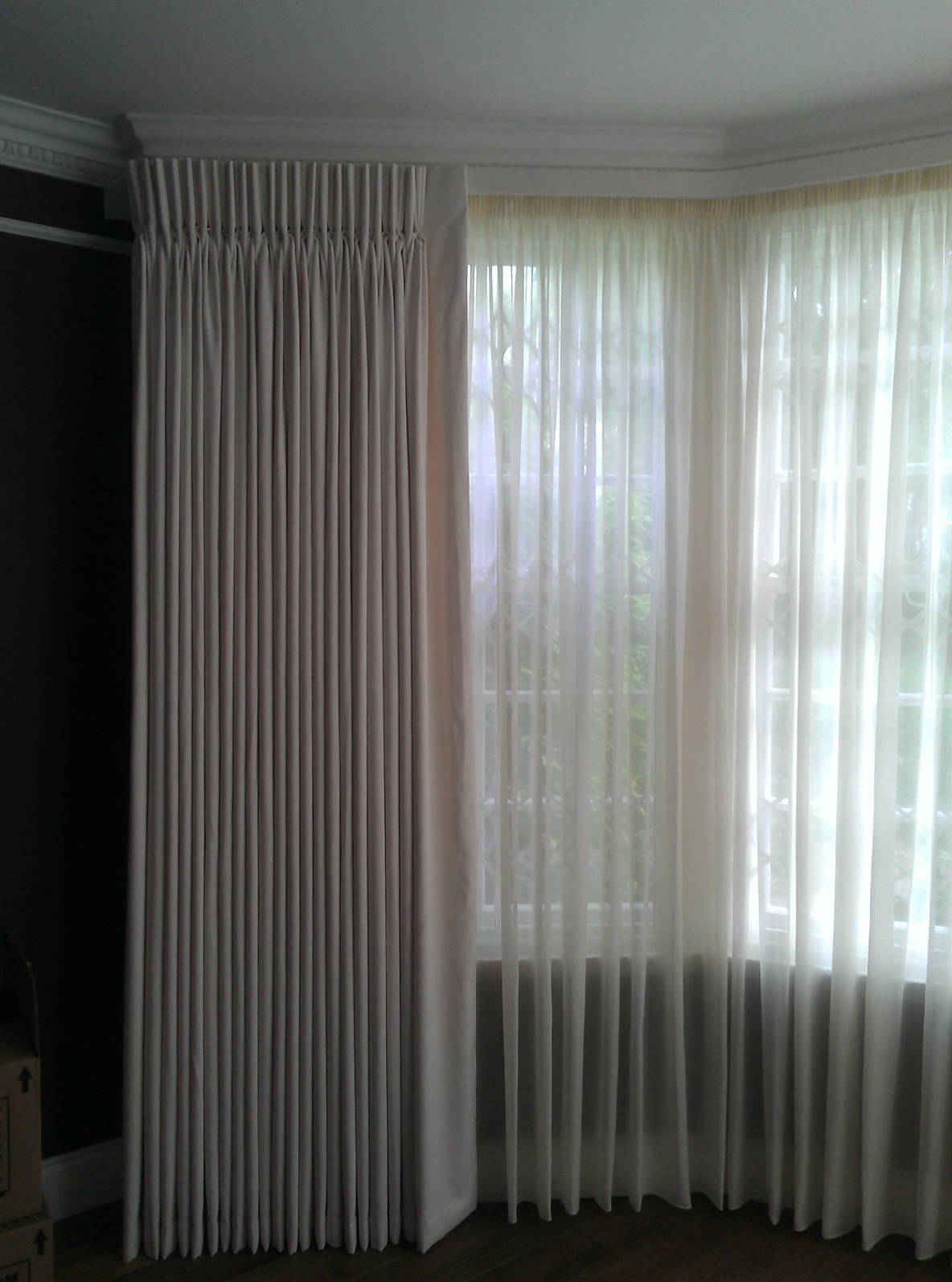 Sheer Pinch Pleated Curtains Home Design Ideas
