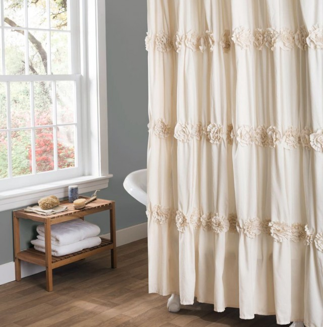 Shower Curtain Canvas Art