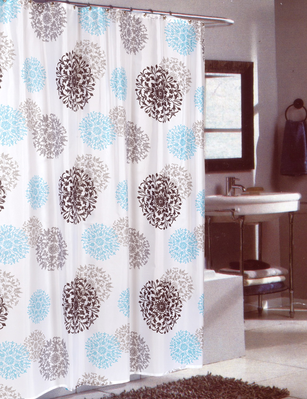Shower Curtain Length And Width Home Design Ideas