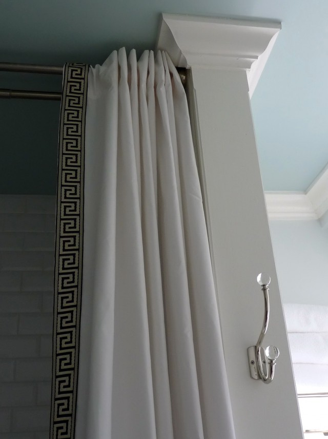 Shower Curtain Rod Height From Floor
