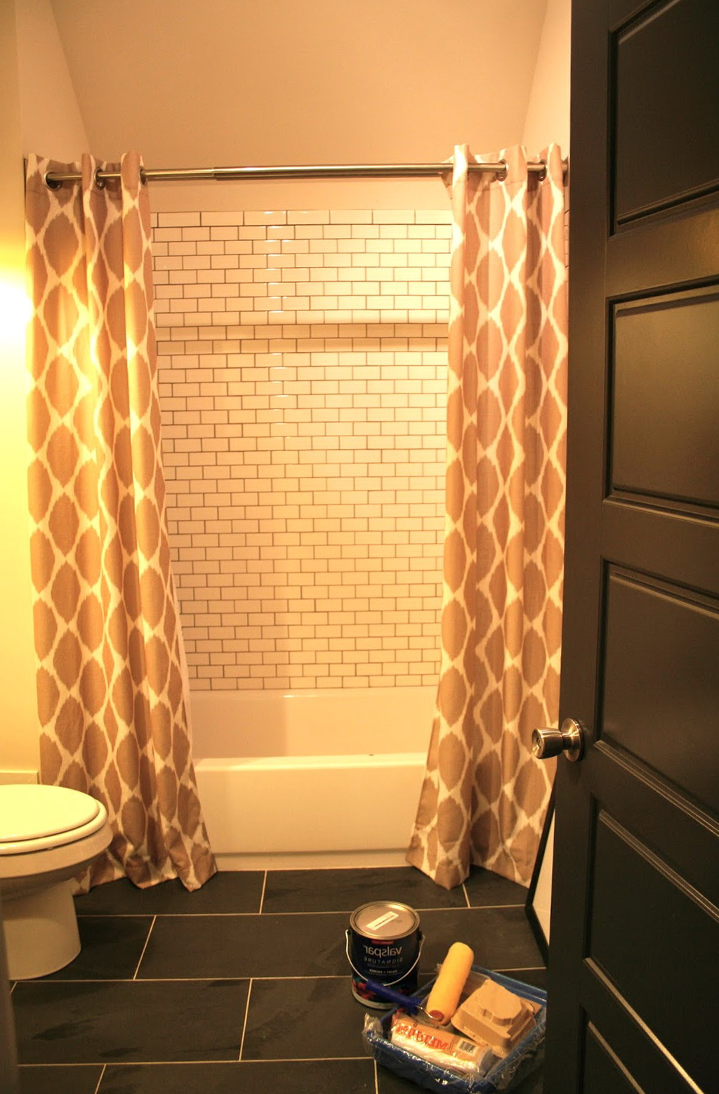 Shower Curtain Tension Rod Extra Long Home Design Ideas