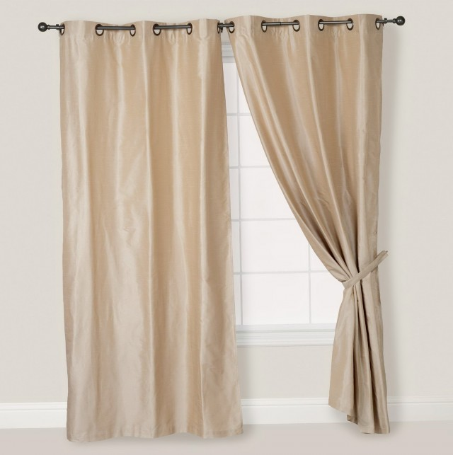 Silk Curtain Panels Cheap