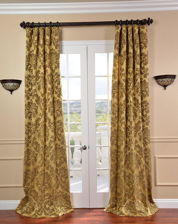 Silk Curtain Panels On Sale