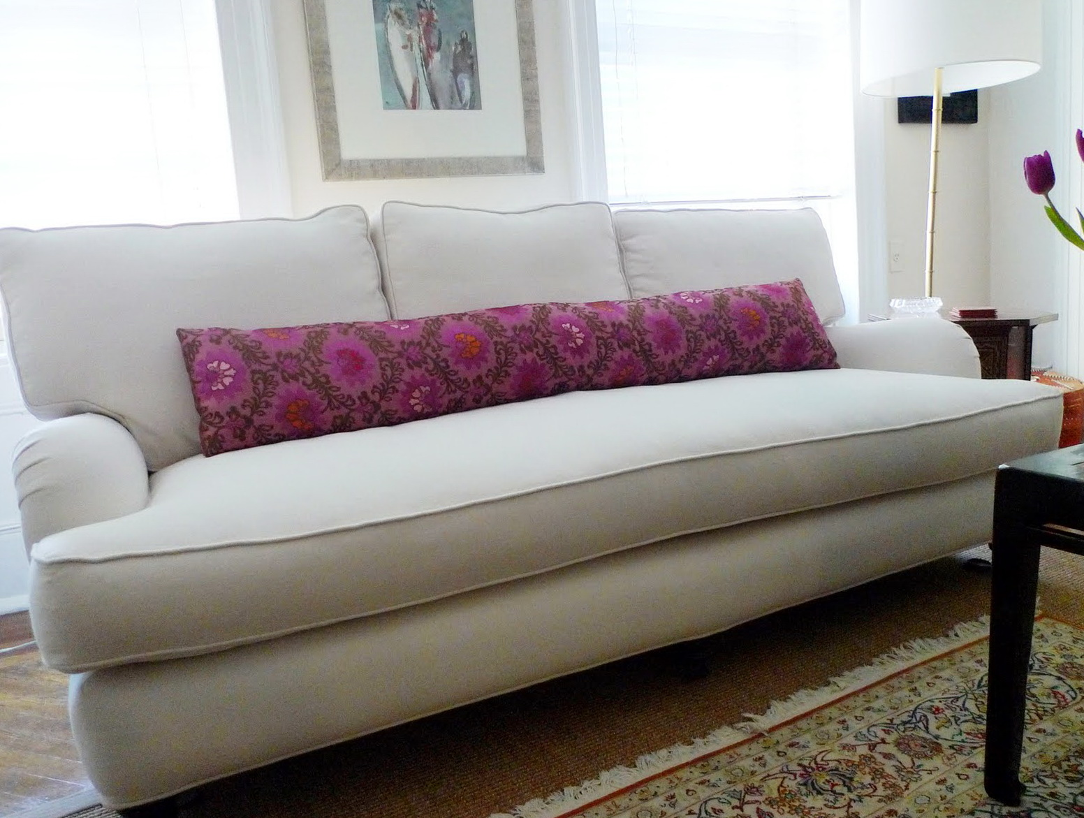 Single Seat Cushion Sofa